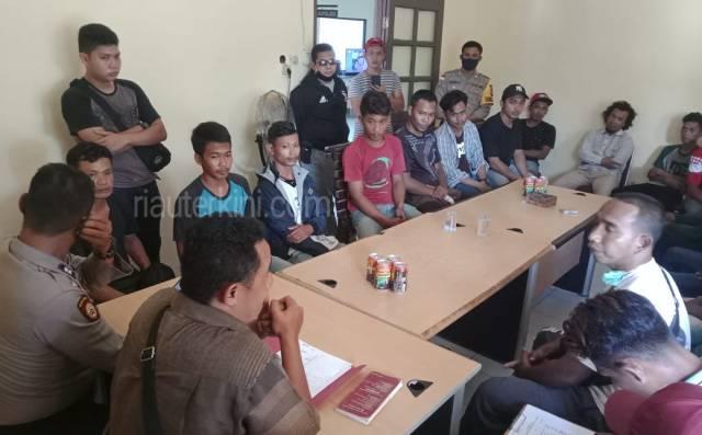 Tawuran Pemuda di Bengkalis Berujung Damai