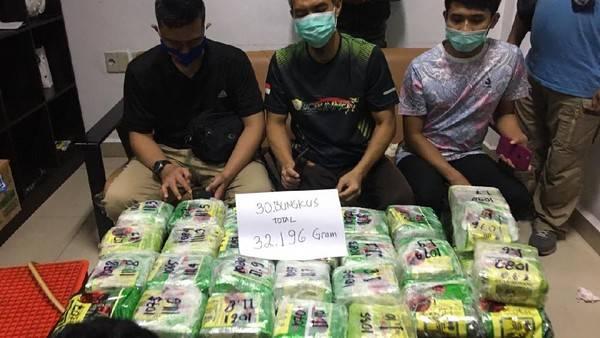 Penyelundupan Sabu Sekitar 30 Kg dari Malaysia Digagalkan di Perairan Dumai