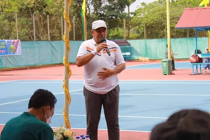 Bupati Siak Buka Kejuaraan Tenis Eksekutif
