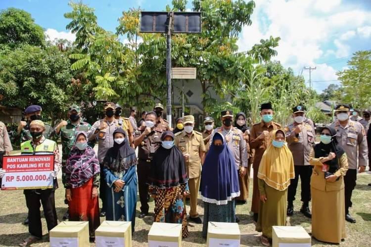 Walikota Dumai Dampingi Kunjungan Gubri Monitoring PPKM Mikro Covid 19