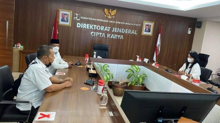 Bupati Alfedri Jumpai Dirjen Cipta Karya, Ajukan Proposal Pembangunan Siak 2022