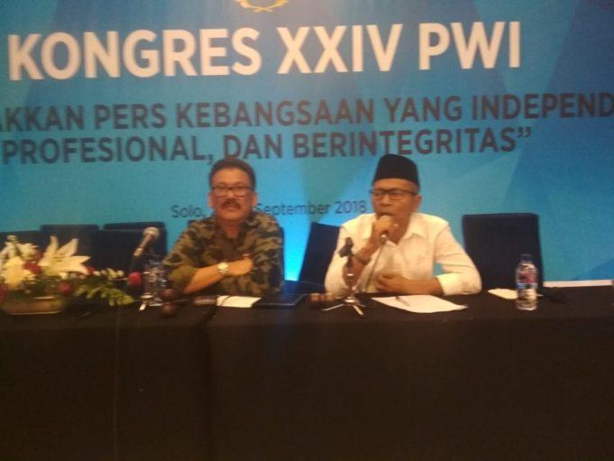 Kode Perilaku Wartawan Indonesia Disahkan