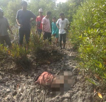 Heboh, Warga Selatpanjang Temukan Mayat di Hutan Bakau