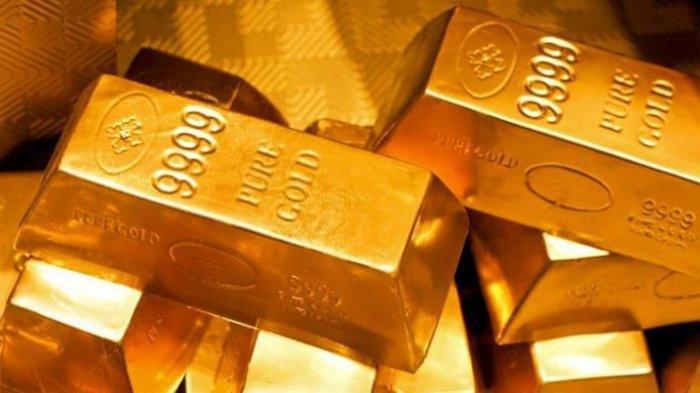Tertekan Dollar, Harga Emas Berbalik Turun