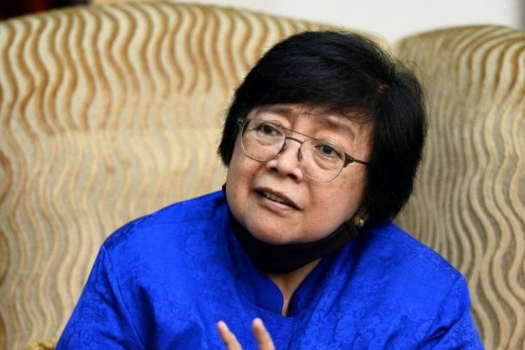 Kunjungi Riau, Menteri LHK Bicarakan Penanggulangan Karhutla