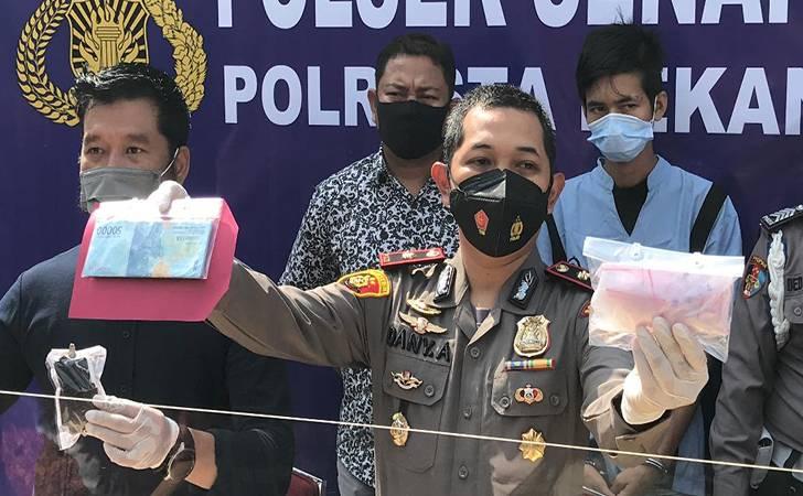 Pengedar Sabu Kampung Dalam Dibekuk Polsek Senapelan