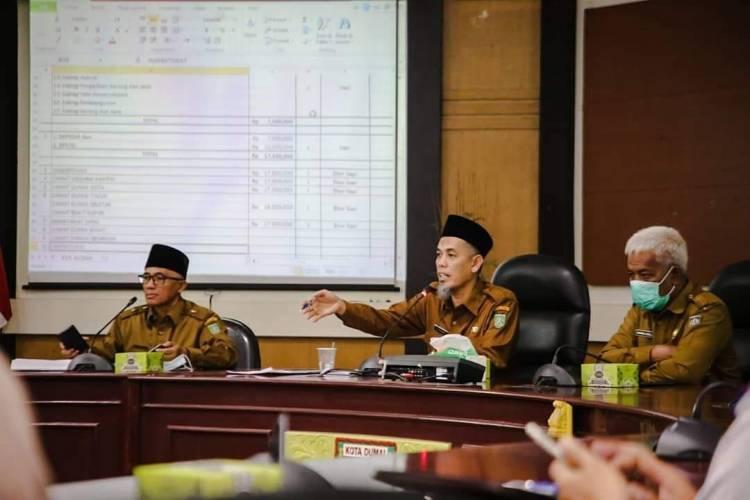 Walikota Dumai Pimpin Rapat Persiapan Hari Raya Idul Adha
