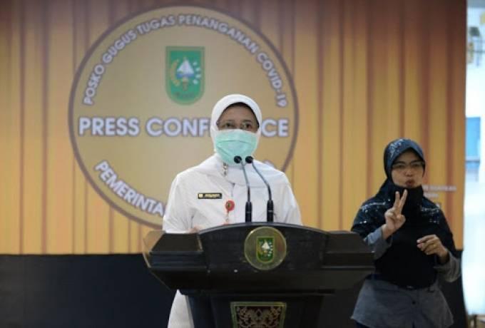 Capai Rekor, 978 Warga Riau Terpapar Covid-19, 16 Meninggal Dunia