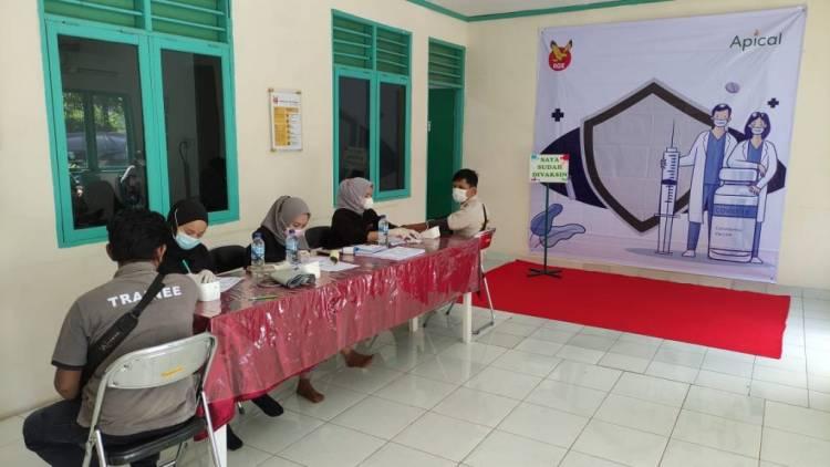 Apical Grup Laksanakan Vaksinasi Gotong Royong Tahap Dua