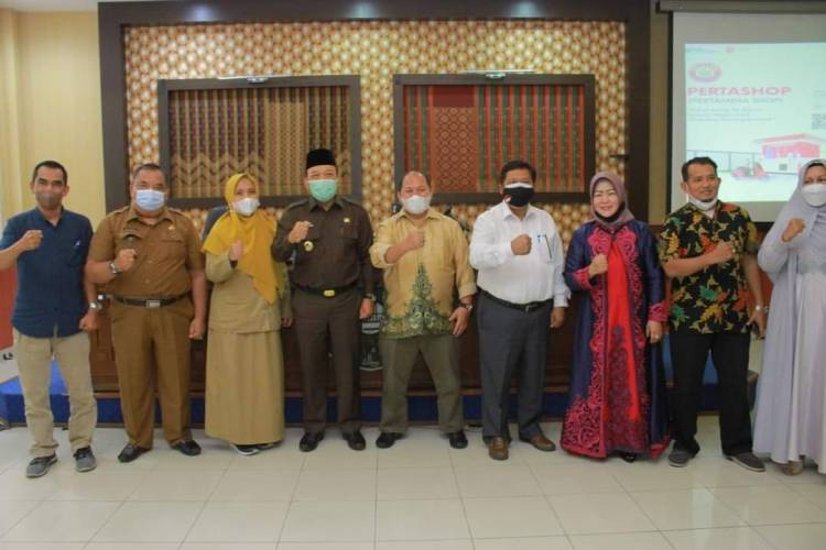 Wabup Husni buka Sosialisasi Program Pertamina Pertashop