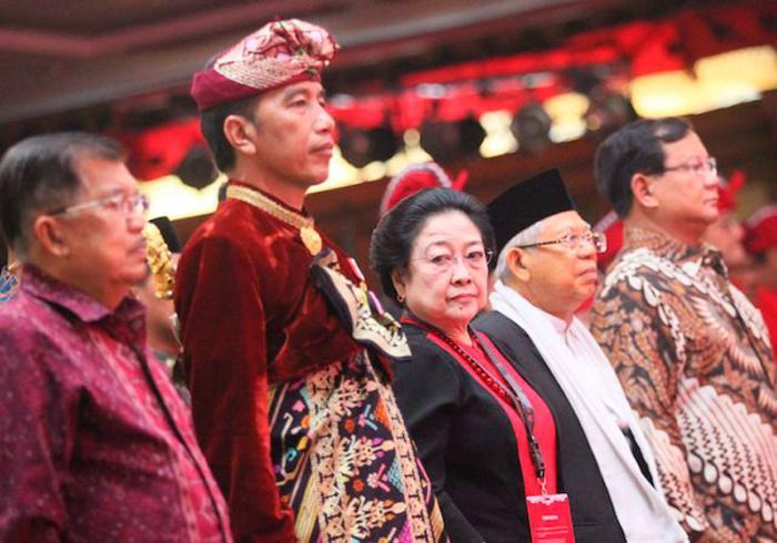 Megawati Ketum Terlama Partai dan Jatah Menteri