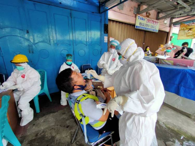 68.243 Warga Riau Telah Dirapid Test