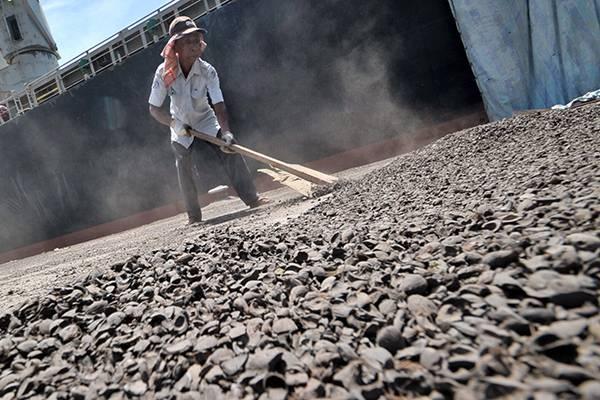 Ekspor Cangkang Sawit Dari Bangka ke Jepang Senilai Rp 1,1 Milyar