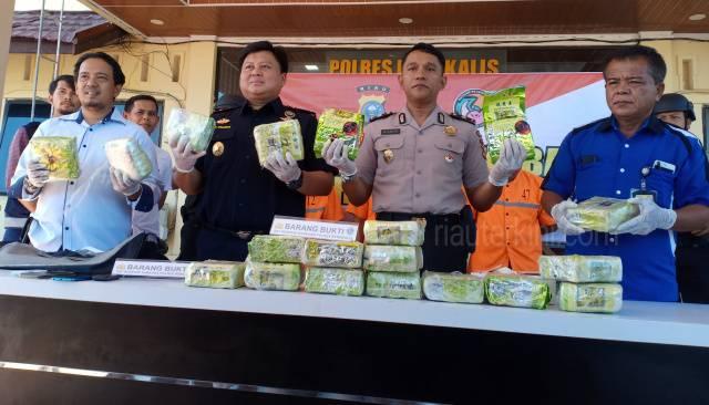 Terbukti Sindikat Sabu 19 Kg, Pengendali dan Tukang Antar Dihukum Mati PN Bengkalis