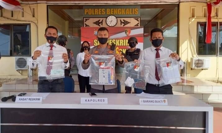 Modus Sembako Murah, Minah Dibekuk Polisi Bengkalis