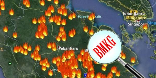 Terpantau 17 Titik Panas di Riau, BMKG: Siak Terbanyak