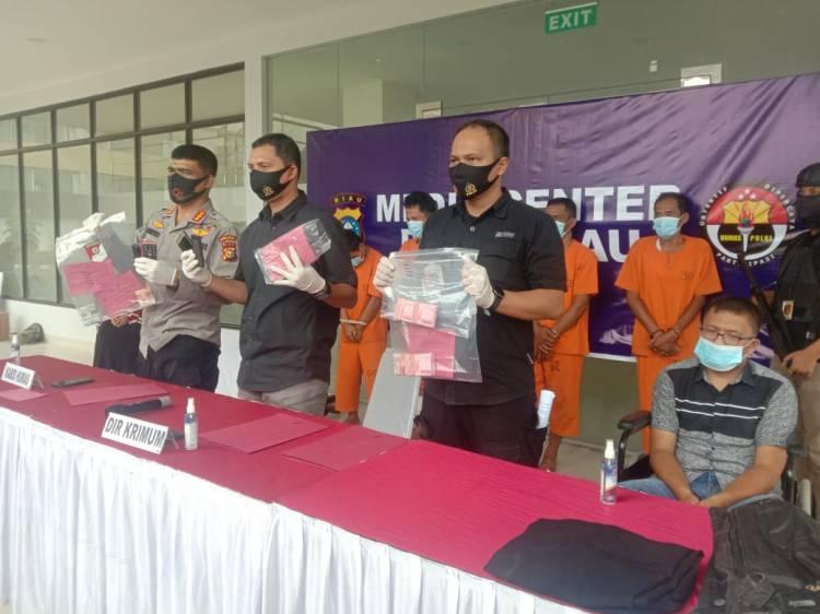 Polisi Bekuk Komplotan Rampok di Jalan Lintas Pekanbaru - Bangkinang