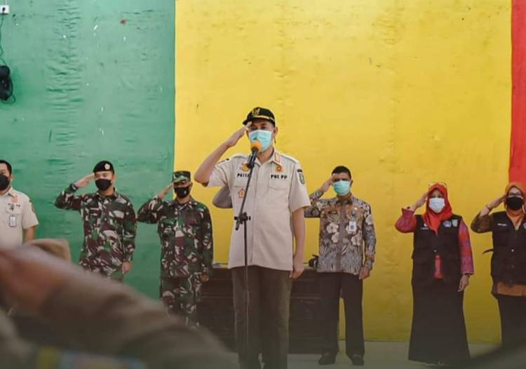 Pimpin Apel Yustisi, Walikota Dumai Ingatkan Petugas Selalu Kedepankan Sifat Humanis