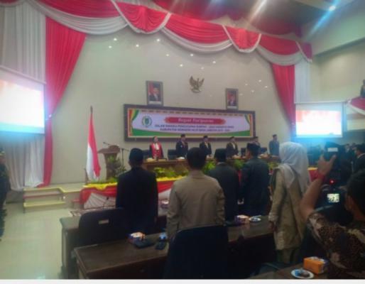 Sah, 45 Anggota DPRD 2019-2024 Inhil Resmi Dilantik