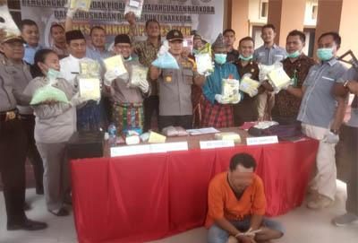 Oknum Wartawan Asal Bengkalis Gendong 12 Kg Sabu dan Belasan Ribu Pil Ekstasi