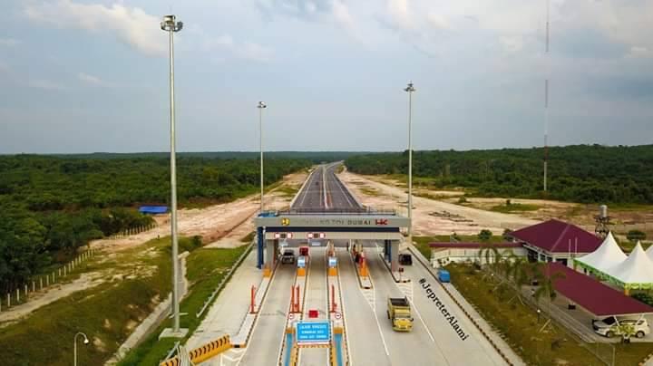 BPJT: Jalan Tol Pekanbaru-Dumai Ada Pergerakan Tanah