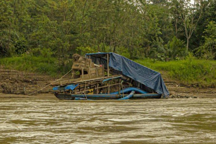 Polisi Berhasil Menangkap Enam Penambang Emas Ilegal Kuansing