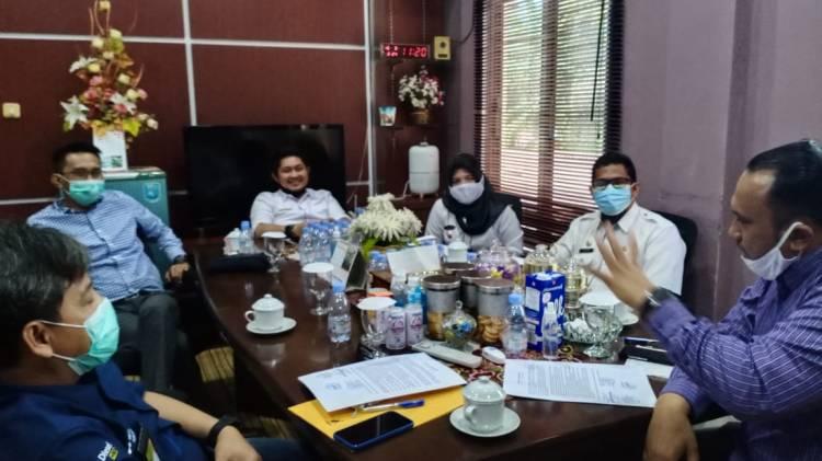 Usai Mediasi Legislatif, DLH Dumai Bersihkan Tumpukan Sampah