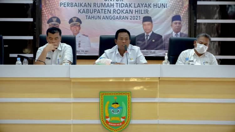 117 Warga Rohil Dapat RLH Dari Pemprov Riau