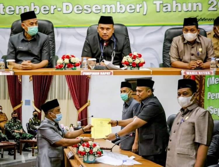 Walikota Dumai Hadiri Rapat Paripurna Hasil Reses dan Kunker DPRD