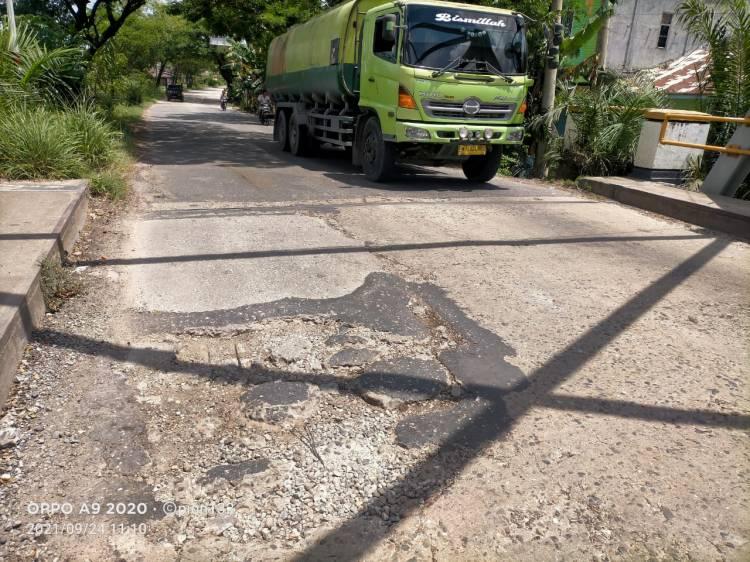Dinas PUPR Riau Diminta Segera Perbaiki Jembatan Sungai Mesjid Dumai