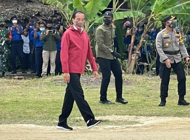 Presiden Jokowi ke Bengkalis