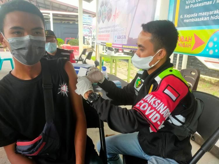 Target 1100 Anak Vaksin CoronaVac di Inhu