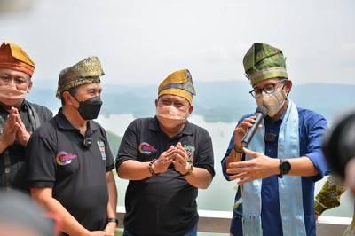 Menparekraf Sandiaga Uno Pulang Kampung ke Riau