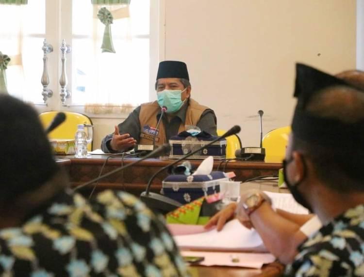 Bupati Alfedri Dukung Rencana Lomba Karya Tulis Bertajuk Danau Zamrud