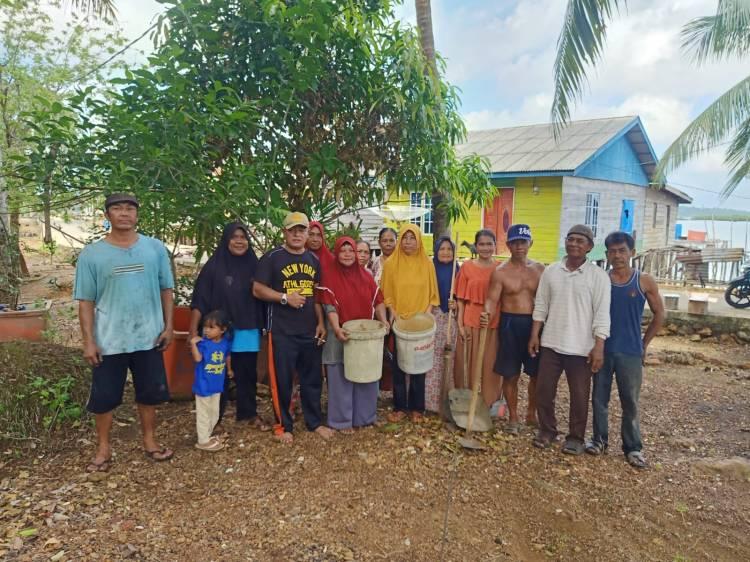 Kecamatan Bakung Serumpun Goro Bersama Warga Wujudkan Solidaritas