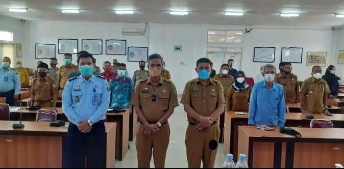 Sekdakab Rohil Buka Penyuluhan Hukum Terpadu Bersama Kanwil Kemenkum HAM Riau