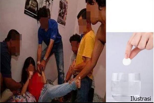 Gadis Di Rangsang Meranti Digilir 4 Pemuda