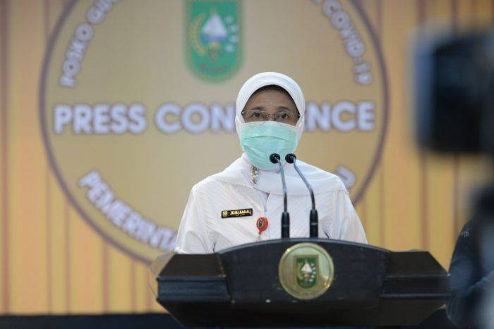 Update Covid 19 Riau: 247 Kasus Terkonfirmasi Positif dan 299 Sembuh