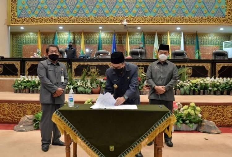 Sah, APBD Perubahan 2020 Provinsi Riau Rp8,7 Triliun