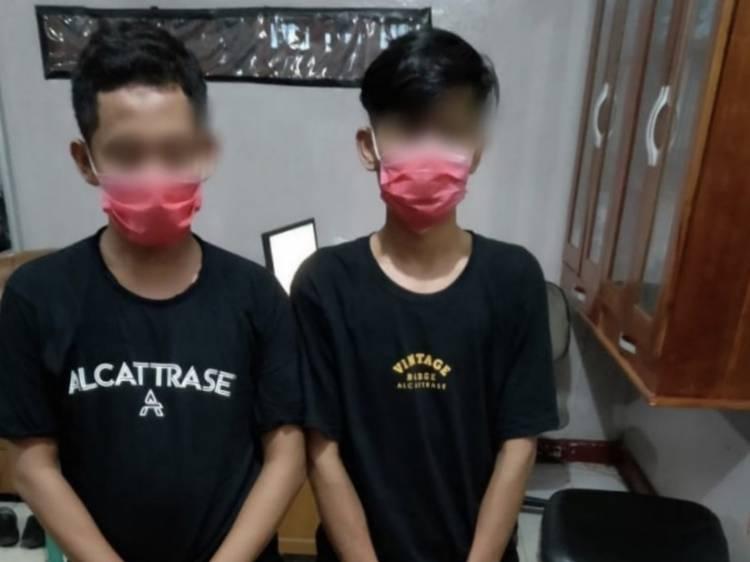 Dua Pemuda di Duri Bengkalis Jadi Kurir Sabu