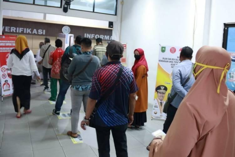 Program Pemutihan Pajak Kendaraan di Riau Diperpanjang Hingga 15 Desember