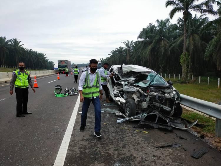 Kecelakaan Maut Terjadi di Tol Permai, Ini Kronologisnya