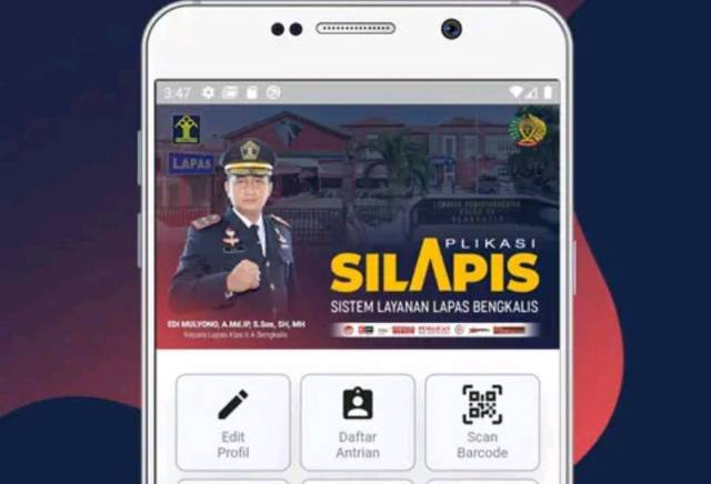 Lapas IIA Bengkalis Luncurkan Aplikasi Silapis