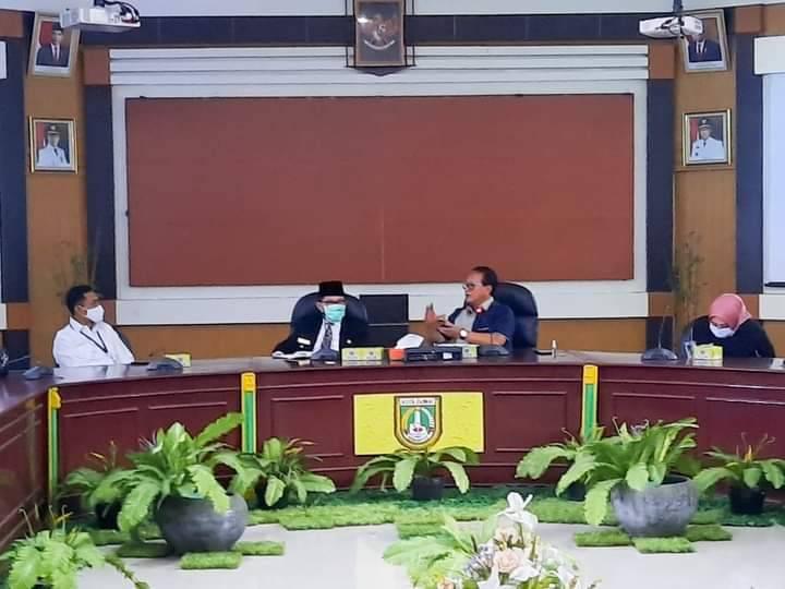 Walikota Dumai Bahas Pencanangan Kawasan Minapolitan bersama Kementerian