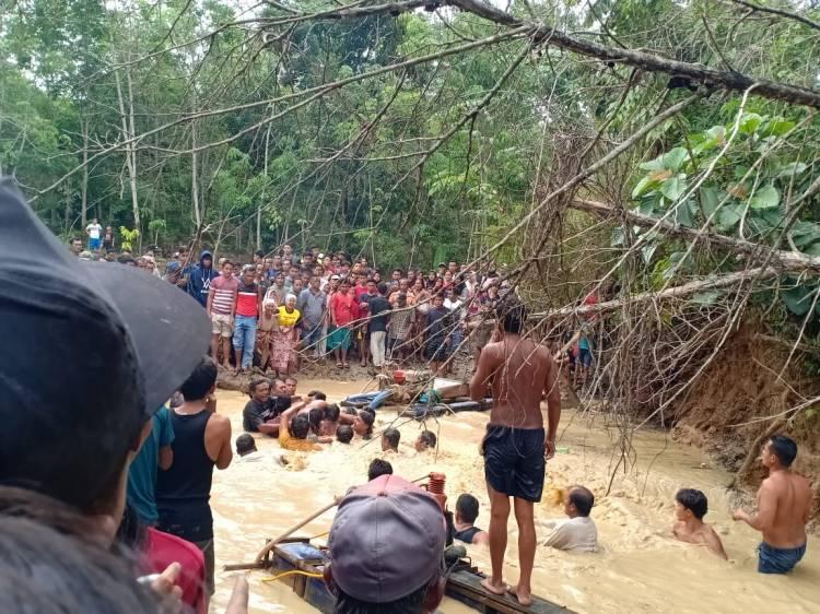 Polisi Hentikan Pelarian Pemilik Dompeng PETI Maut di Kuansing