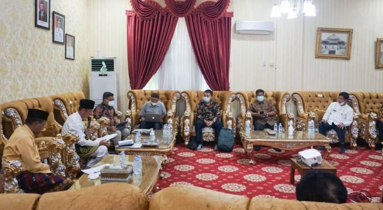 Bupati Rohil Berang Dalam Pertemuan Bersama SKK Migas dan Pertamina Hulu Rokan