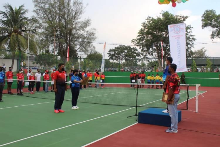 Tenis Lapangan Fasharkan Mentigi Cup Resmi Dibuka
