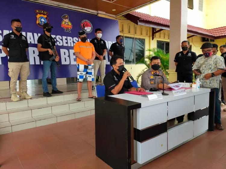 Polres Bengkalis Ciduk DPO Bandar Sabu