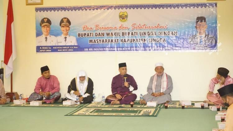Bupati Lingga Gelar Doa Bersama dengan Masyarakat di Dabosingkep