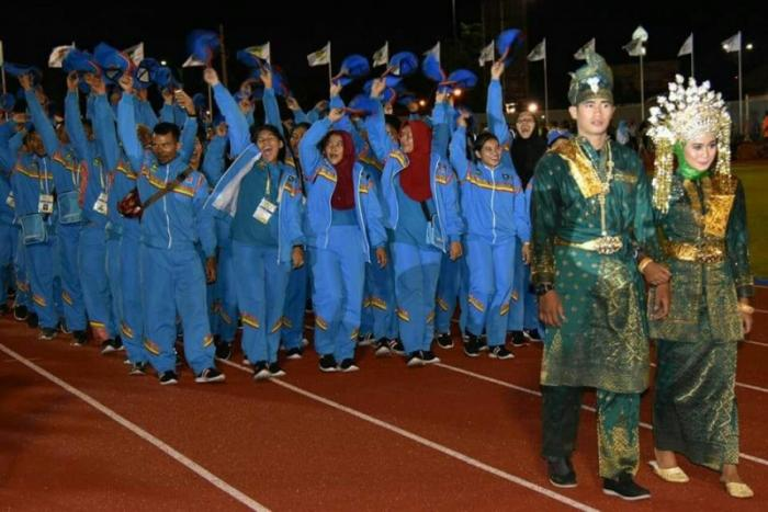 Kontingen Bengkalis Kantongi 77 Mendali Emas Porprov Riau